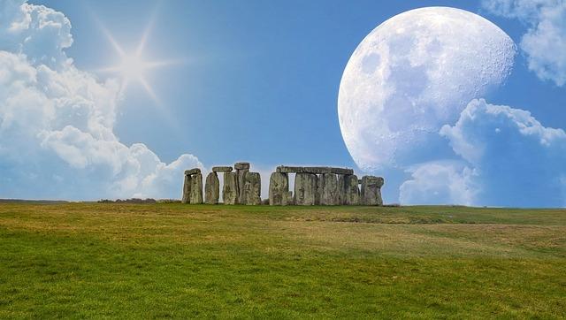 Stonehenge, Stone Henge, England, Stones