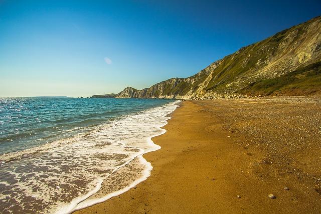Worbarrow Bay, Sea, England