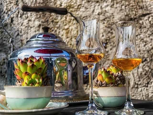 Liqueur, Glass, Alcohol, Enjoy, Summer, Drink