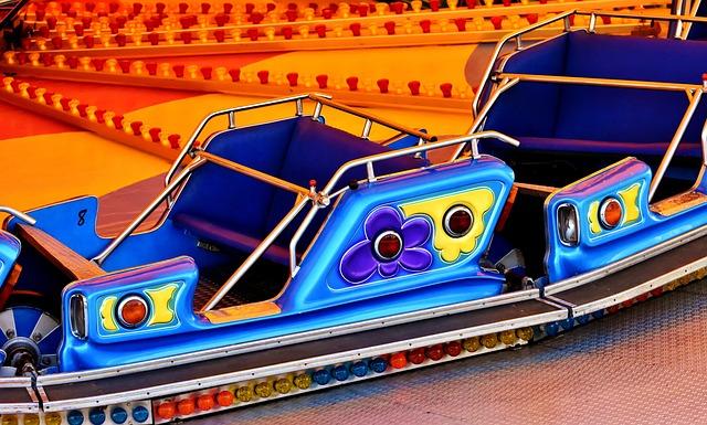 Fairground, Ride, Carousel, Entertainment