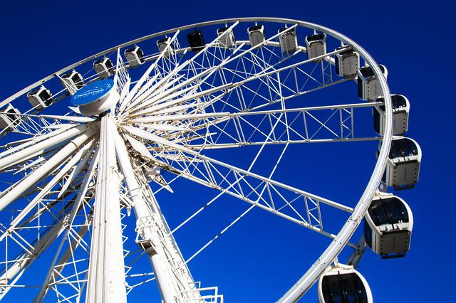 Wheel, Entertainment, Sky, Ferris Wheel, Roll Along