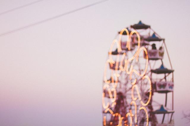 Ferris Wheel, Amusement Park, Rides, Fun, Entertainment