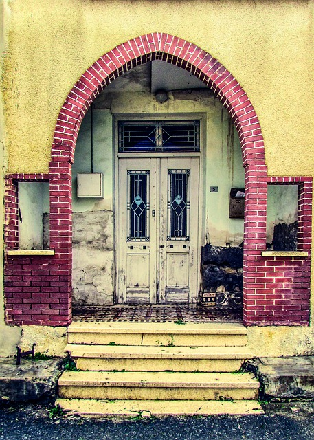 Cyprus, Old House, Entrance, Door, Architecture