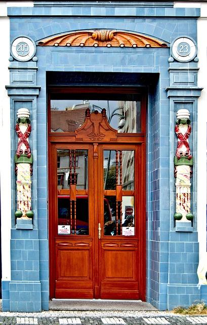 The Door, Entrance Doors, Entrance, Decorative