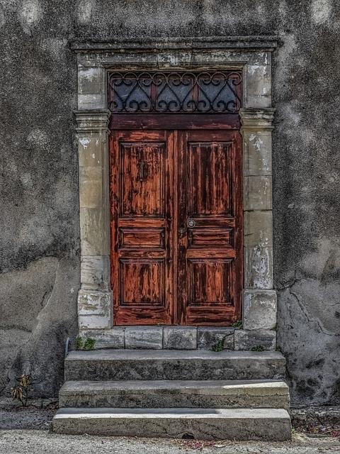 Architecture, Neoclassic, Door, Doorway, Entrance