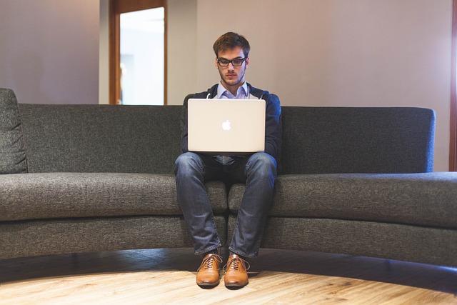 Man, Laptop, Businessman, Entrepreneur, Start-up