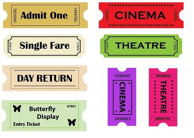 Entry Ticket, Entry Tickets, Entry, Ticket, Admit One