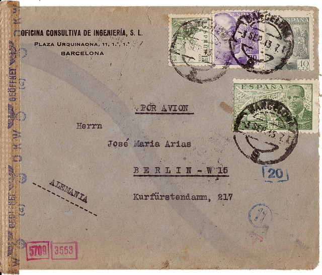 Letters, Stamp, Censorship, Envelope, Post, Message