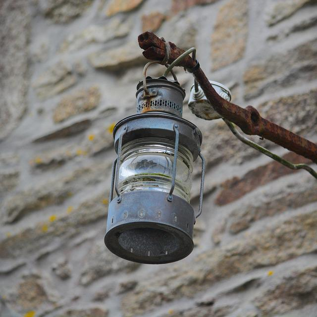 Lamp, No Person, At The Age Of, Outdoor, Environment