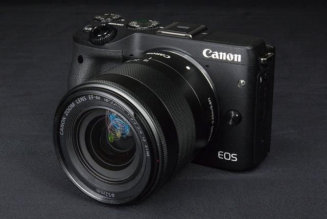 Canon, Camera, Micro-single, No Anti-camera, M3, Eos