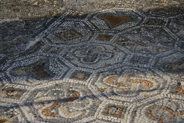 Mosaic, Ruins, Ephesus, Ancient, Roman, Archeology