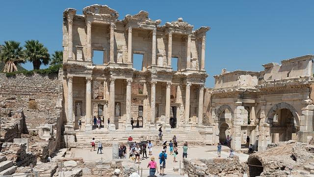 Ephesos, Ephesus, Turkey, Ruins
