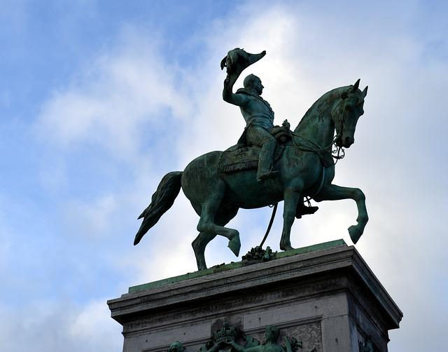 Monument, Statue, Horse, Reiter, Equestrian Statue