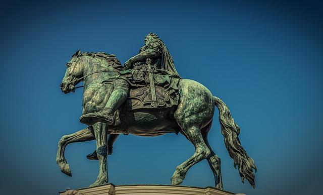 Equestrian Statue, Monument, Reiter, Horse, Statue