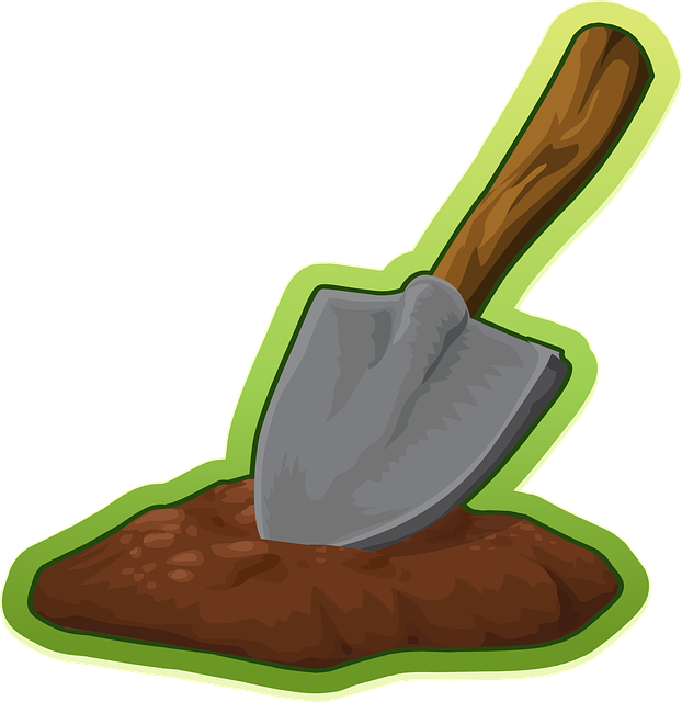 Shovel, Trowel, Digging, Equipment, Tool, Garden, Iron