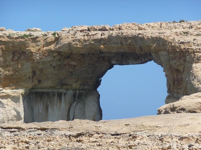 Rock Gate, Rock Arch, Rock Bridge, Erosion