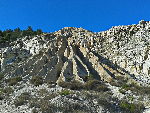 Water Marks, Rock Formations, Erosion
