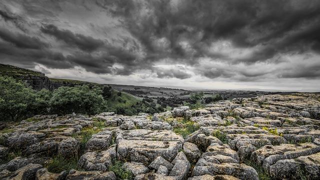 Malham Cove, Yorkshire, Limestone, Erosion