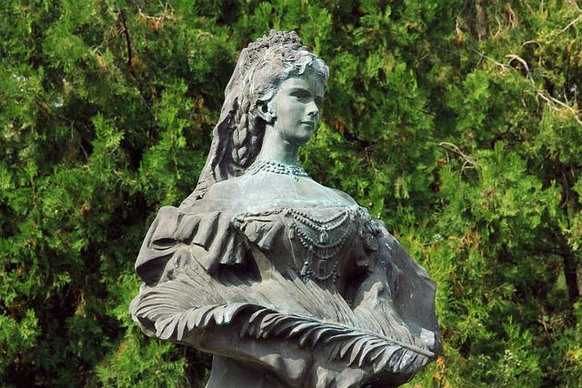 Sisi, Erzsebet, Elizabeth, Esztergom, The Statue Of