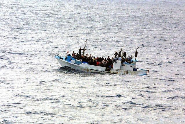 Boot, Water, Refugee, Escape, Asylum, Politically