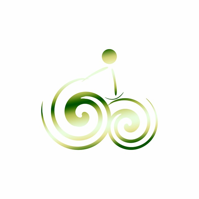 Logo, Bike, Green, Especially, Logo Element, Element