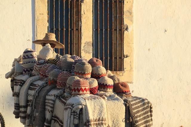 Morocco, Essaouira, Street, Vendor, Clothes