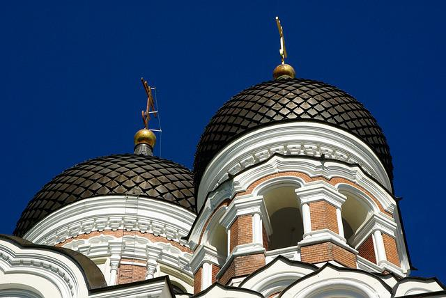 Estonia, Tallinn, Cupolas, Church