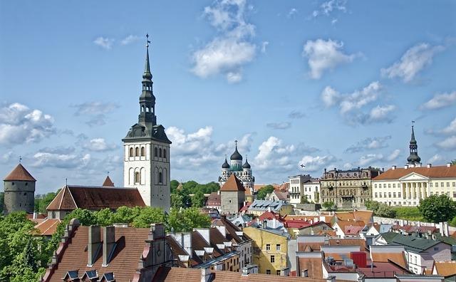 Estonia, Tallinn, Historic Center, Historically