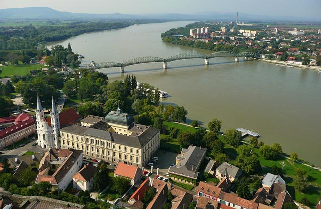 štúrovo, Esztergom, Temple, Church, Basilica, Bridge