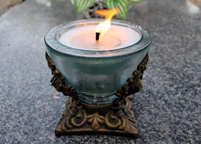 Candle, Fire, The Flame, Mood, Wax, Eternity