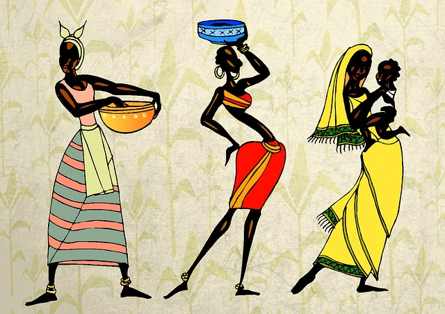 Woman, Ethic, African, People, Collage, Tribe, Tribal
