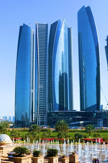 Etihad Towers, Abu Dhabi, Skyscraper