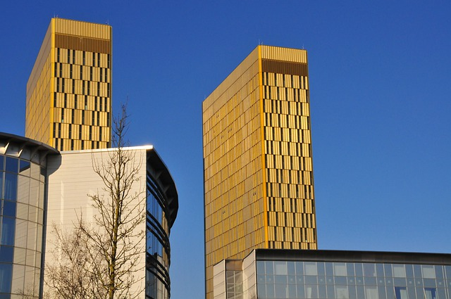 Eu Court Of Justice, Kirchberg, Luxembourg