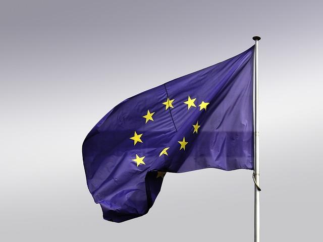 Flag, Europe, Eu, Blow, Flutter