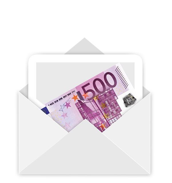 Envelope, Money, Euro, Bill, Gift, Christmas, E Mail