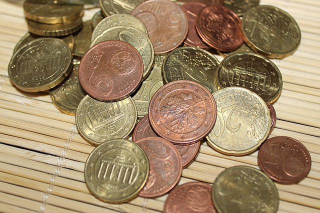 Coins, Euro, € Coin, Loose Change, Money, Specie
