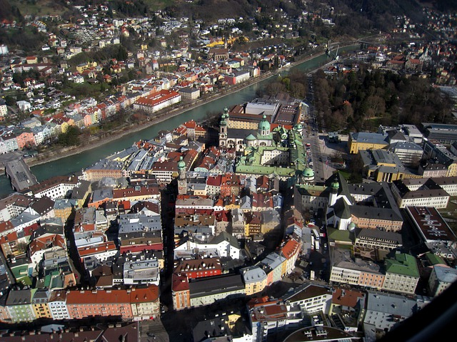 Innsbruck, Austria, Europe, City, Architecture