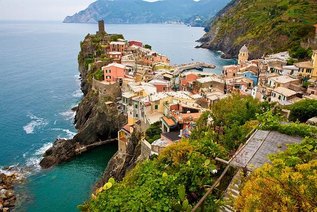 Cinque Terre, Italy, Mediterranean, Europe, Liguria