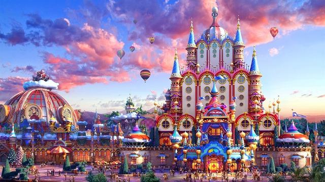 Europe, Castle, Fairy Tale