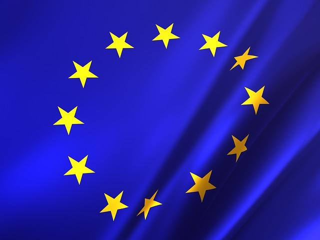 Eu, Flag, Europe, European, Union, Symbol, National