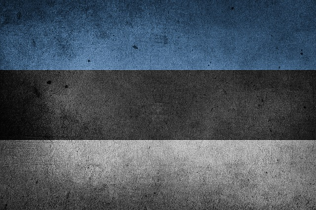 Flag, Estonia, Europe, National Flag, Grunge