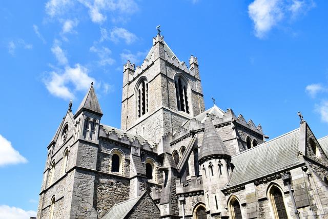 Ireland, Dublin, Europe, Architecture, Buildings