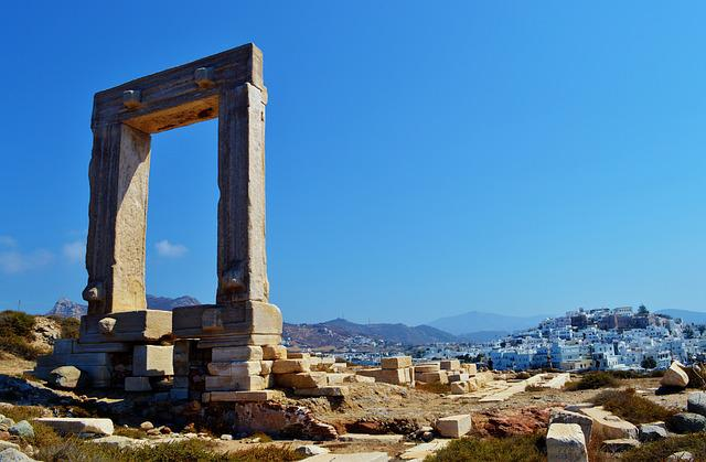 Naxos, Greece, Cyclades, Europe, Architecture