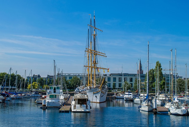 Ostend, Belgium, Europe, Mercator, Ship, Trade, Harbor