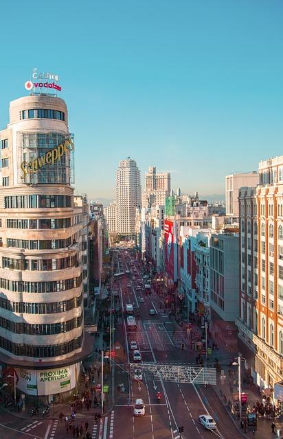 Madrid, Spain, Travel, City, Europe, Landmark