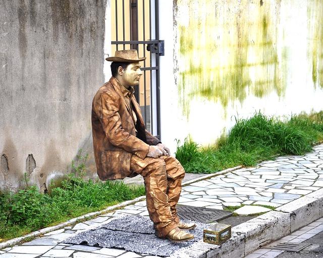 Europe, Street View, Statue