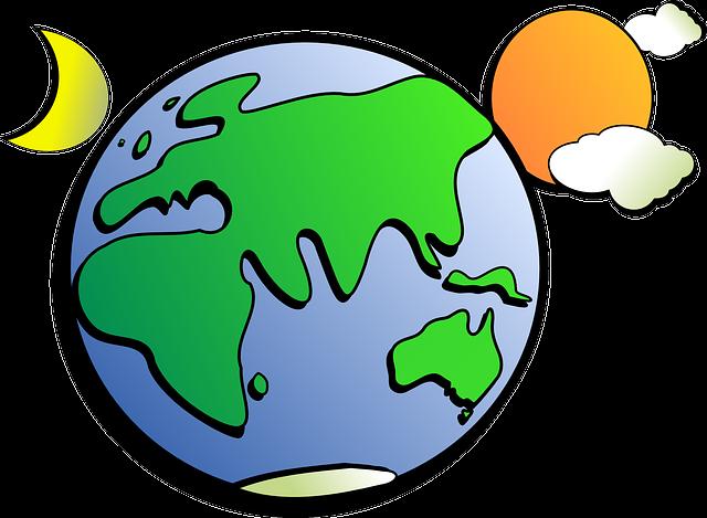 Earth, Sun, Moon, Solar, India, Russia, China, Europe