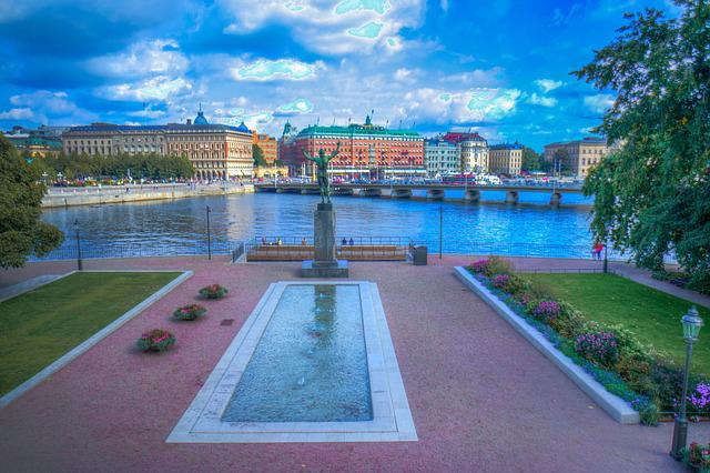 Stockholm, Sweden, Scandinavia, Europe, Architecture