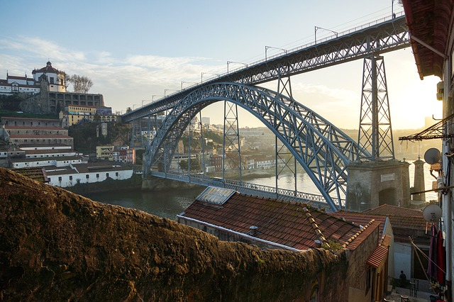 Bridge, City, River, Portugal, Tourism, Europe