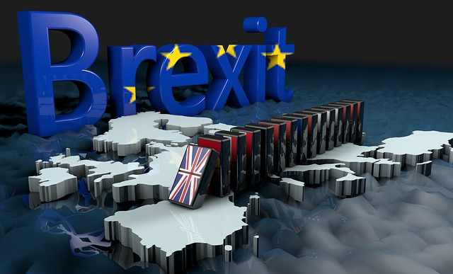 Brexit, Europe, United Kingdom, England, Eu, Domino